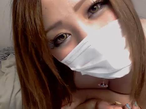 【ライブチャット動画】ムッチリなヤンキー系素人娘が爆乳スライム乳これでもかと丸出しのエロ配信