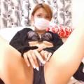 【ライブチャット動画】相武紗季に激似のセクシーな素人がクリをスリスリしてよがるオナニー配信