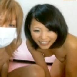 【ライブチャット動画】黒髪ショートのロリ顔美少女がインポ彼氏のチンポを立たせようと健気に頑張る姿がエロい!