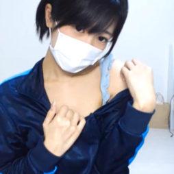 【アダルトライブチャット】アイドル顔負けな短髪素人がめっちゃスケベな生中継