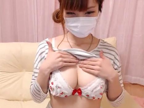[ライブチャット流出]乳も顔も最高レベルな女子のドスケベ配信から目が離せない